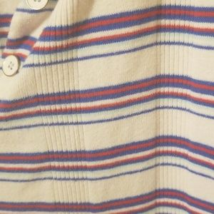 Tommy Hilfiger Tops - Tommy Hilfiger comfy red/blue striped v cut tee.